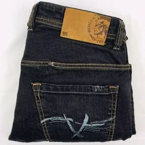 Diesel Paddom Gray Blue 31x30 Italy Jeans Unique